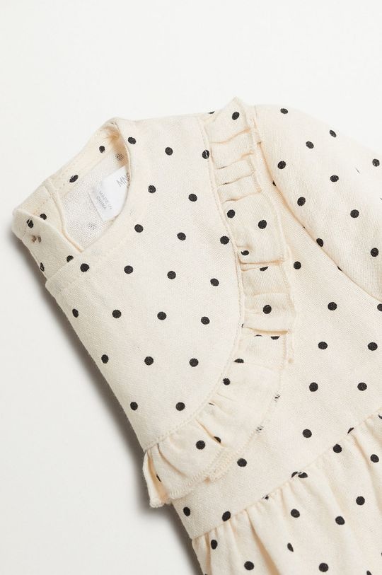 Mango Kids - Bluzka dziecięca Topito 80-110 cm biały