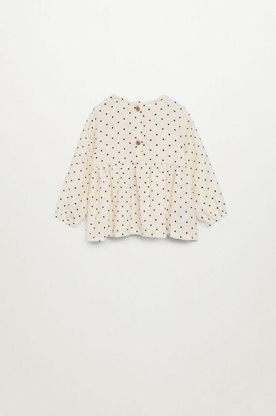 biały Mango Kids - Bluzka dziecięca Topito 80-110 cm
