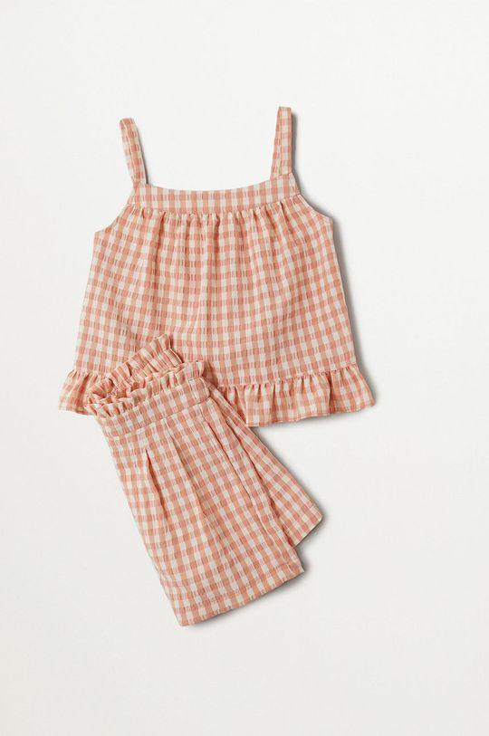 Mango Kids - Bluzka dziecięca Julia 110-164 cm
