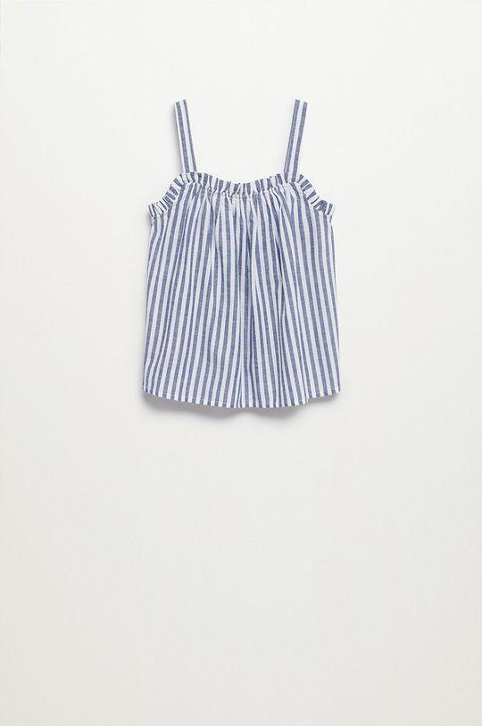 Mango Kids - Bluzka dziecięca Birgit 116-164 cm niebieski