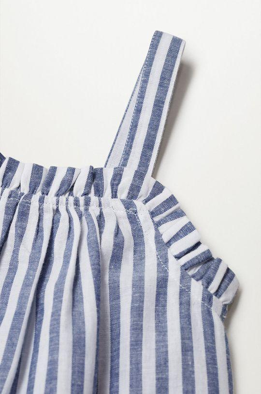 niebieski Mango Kids - Bluzka dziecięca Birgit 116-164 cm