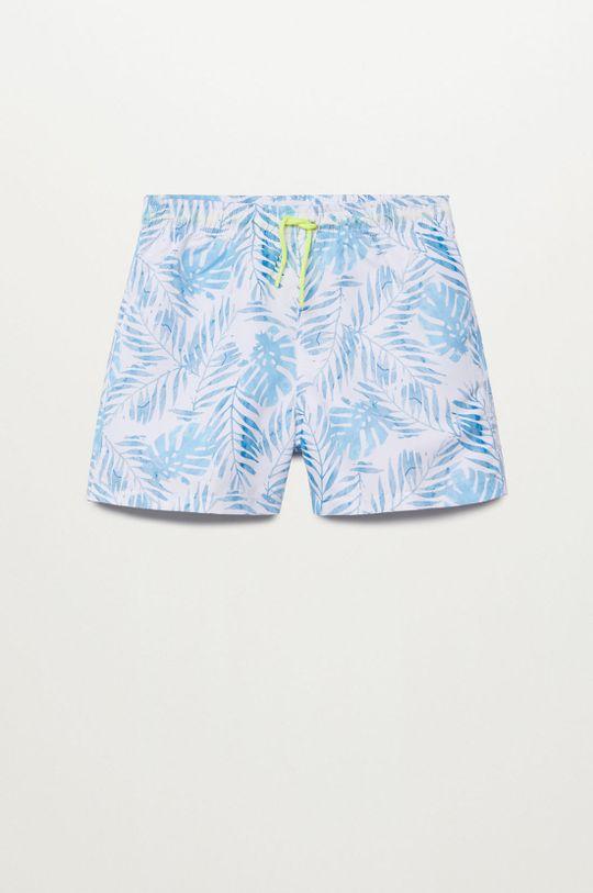 blady niebieski Mango Kids - Szorty kąpielowe dziecięce PALMS Chłopięcy