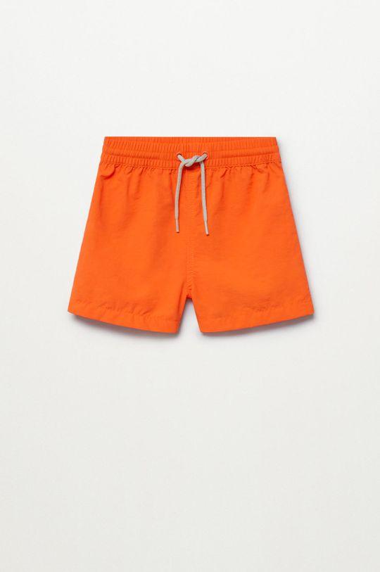 oranžová Mango Kids - Plavkové šortky Luisb 86-104 cm Chlapčenský