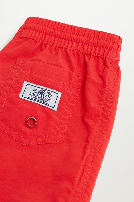 Mango Kids - Plavkové šortky Luisb 86-104 cm červená