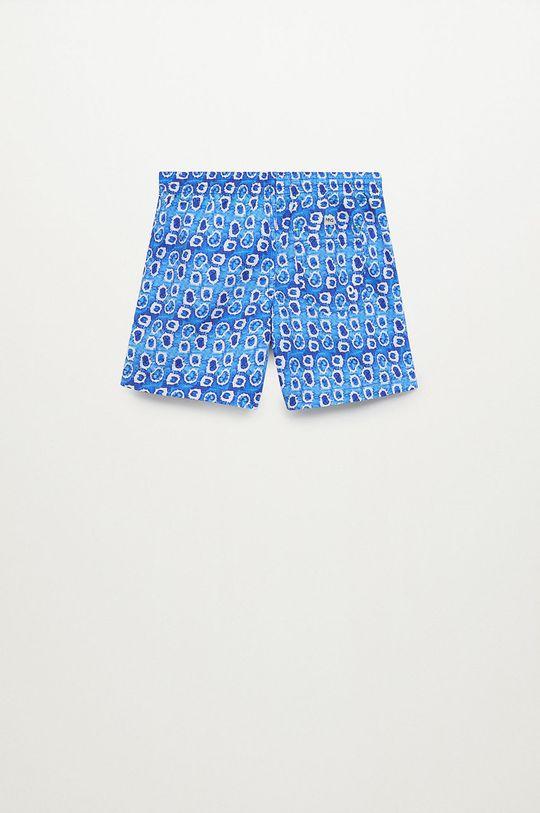 Mango Kids - Dětské plavkové šortky Gota 116-164 cm modrá