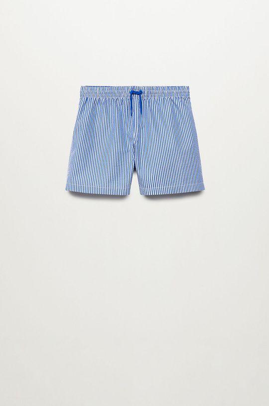 modrá Mango Kids - Detské plavkové šortky Quique 116-164 cm Chlapčenský