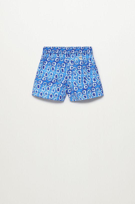 Mango Kids - Szorty kąpielowe dziecięce Gotab 86-104 cm niebieski