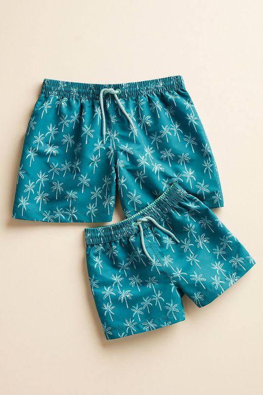 zielony Mango Kids - Szorty kąpielowe dziecięce Palmera 116-164 cm