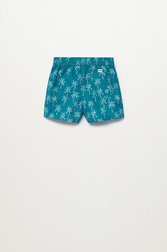 Mango Kids - Szorty kąpielowe dziecięce Palmerab 86-104 cm zielony
