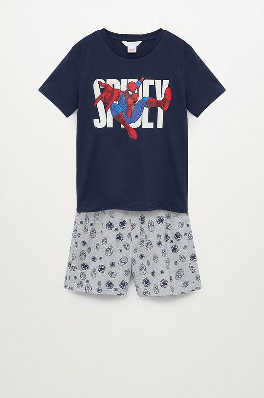 granatowy Mango Kids - Piżama dziecięca Spidey 116-164 cm Chłopięcy
