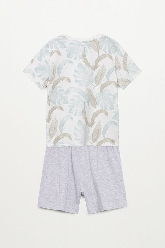 biały Mango Kids - Piżama dziecięca Manuel 116-164 cm