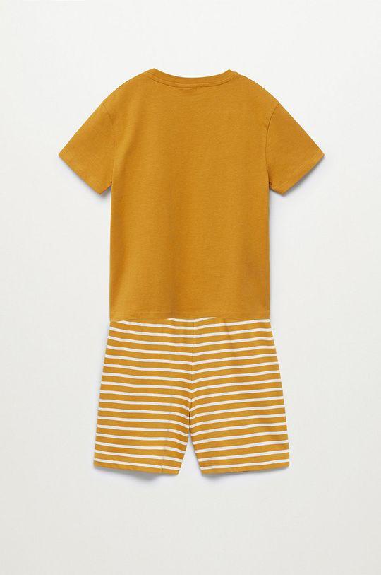 żółty Mango Kids - Piżama dziecięca Sleepy-I 116-164 cm