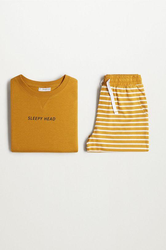 Mango Kids - Piżama dziecięca Sleepy-I 116-164 cm Chłopięcy