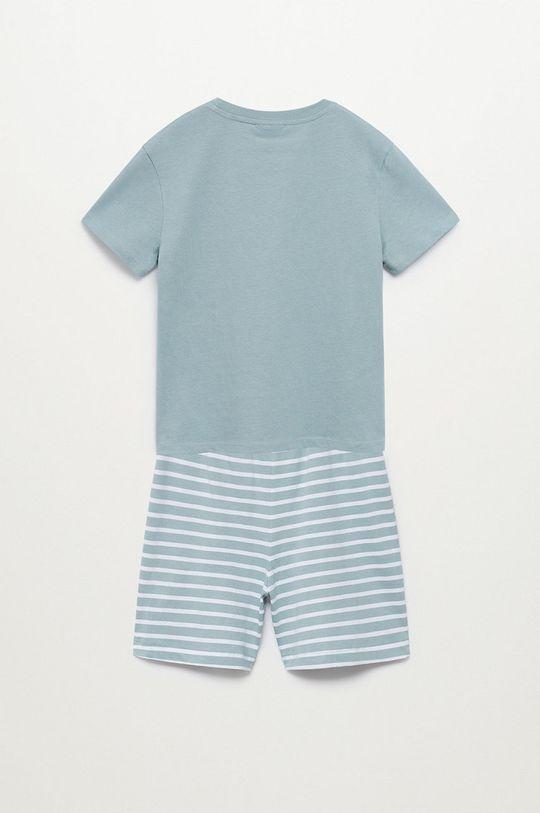 turkusowy Mango Kids - Piżama dziecięca Time-I 116-164 cm
