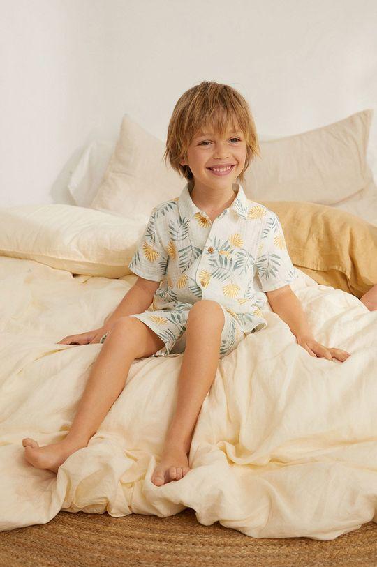 biela Mango Kids - Detské pyžamo Conzi 86-116 cm Chlapčenský
