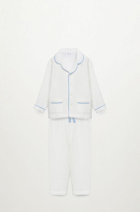Mango Kids - Detské pyžamo Piping 86-116 cm  100% Organická bavlna