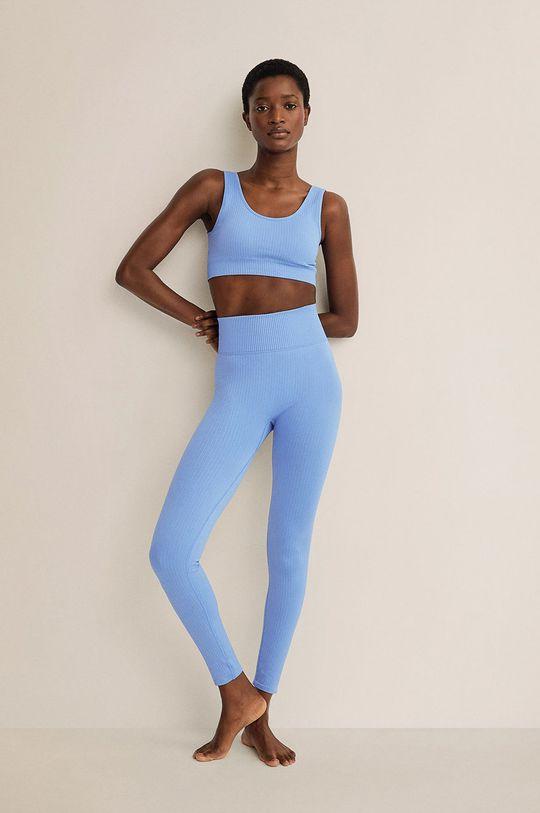 Mango - Biustonosz sportowy APOLO niebieski