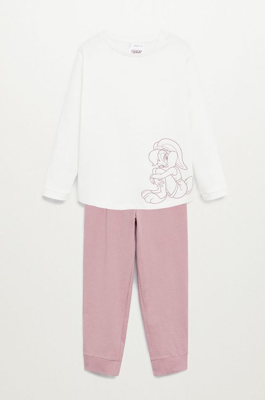 ružová Mango Kids - Detské pyžamo BUNNY Dievčenský