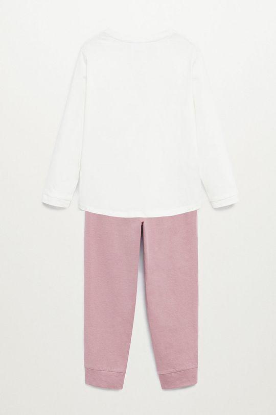 Mango Kids - Detské pyžamo BUNNY ružová
