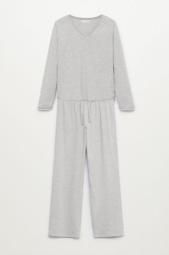šedá Mango Kids - Dětské pyžamo VERONA Dívčí