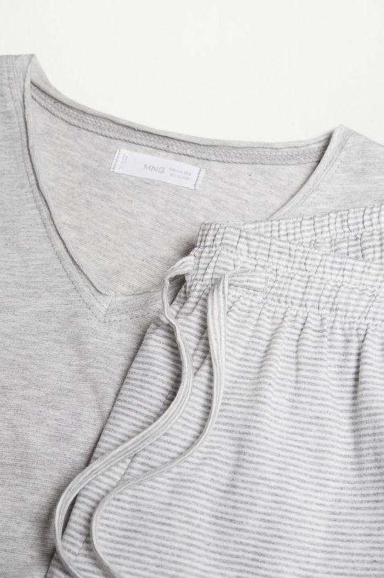Mango Kids - Dětské pyžamo VERONA  27% Polyester, 73% Organická bavlna