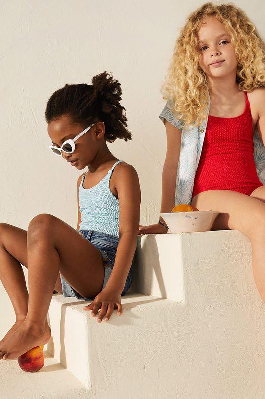 Mango Kids - Strój kąpielowy dziecięcy OCEAN Podszewka: 14 % Elastan, 86 % Poliamid, Materiał zasadniczy: 6 % Elastan, 94 % Poliester
