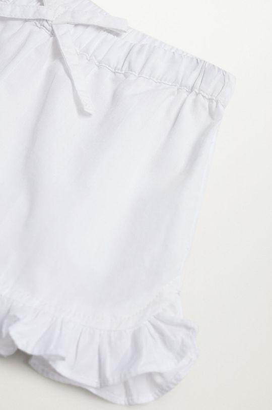 biały Mango Kids - Piżama dziecięca Lidiab 80-104 cm