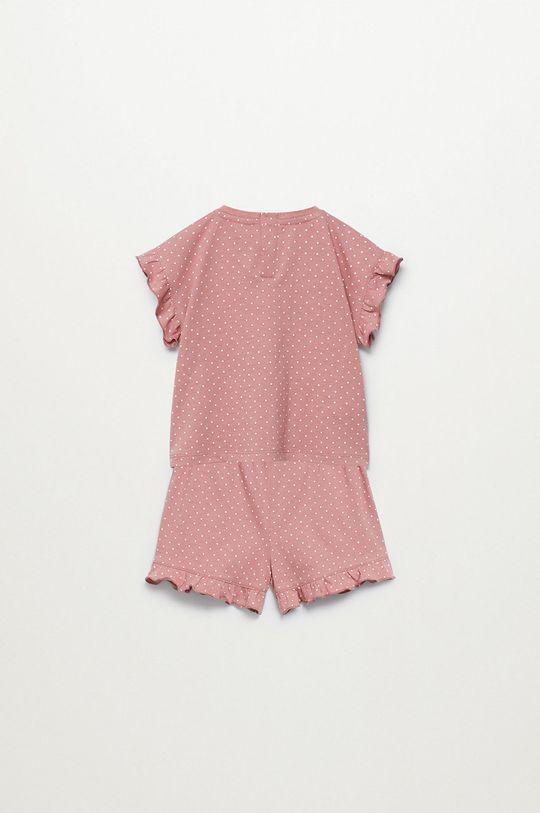 Mango Kids - Piżama dziecięca Dotti 80-104 cm 100 % Bawełna organiczna