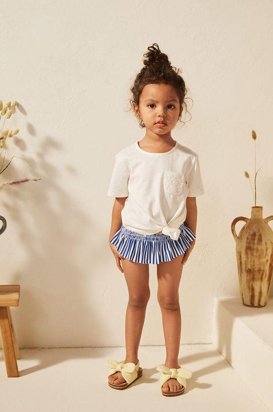 granatowy Mango Kids - Figi kąpielowe dziecięce Nautico 86-104 cm Dziewczęcy