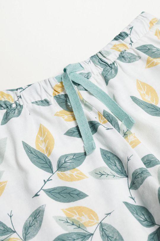 Mango Kids - Piżama dziecięca LEAF 100 % Bawełna organiczna