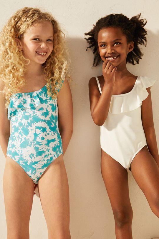 Mango Kids - Strój kąpielowy dziecięcy MAR biały