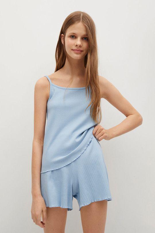 modrá Mango Kids - Detské pyžamo Mayi Dievčenský