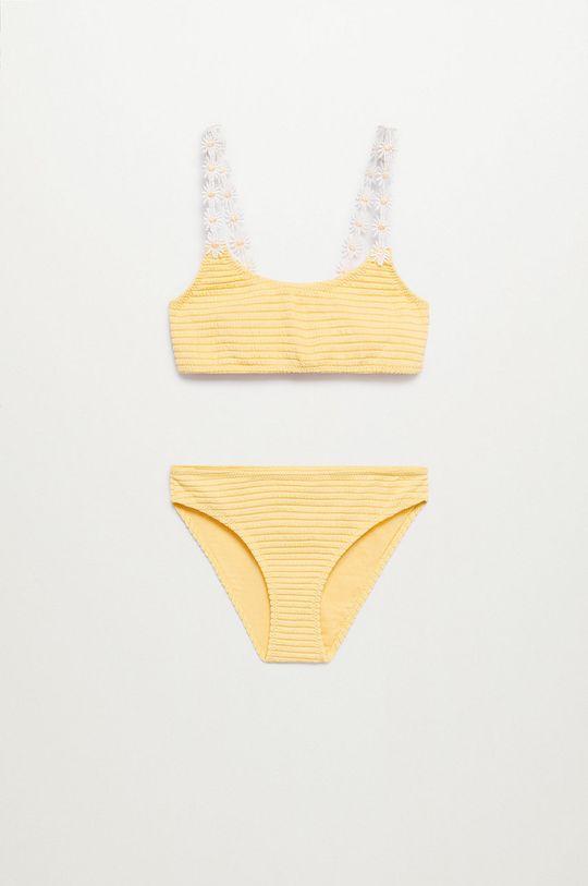 Mango Kids - Strój kąpielowy dziecięcy RITA żółty
