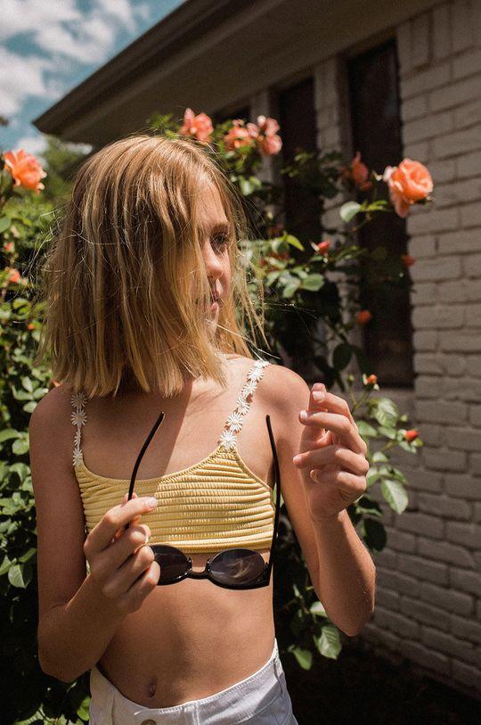 Mango Kids - Strój kąpielowy dziecięcy RITA Podszewka: 18 % Elastan, 82 % Poliamid, Materiał zasadniczy: 10 % Elastan, 90 % Poliamid