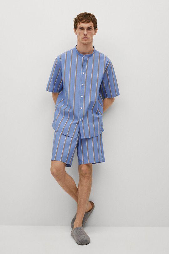 Mango Man - Koszula piżamowa AEGEAN-I niebieski