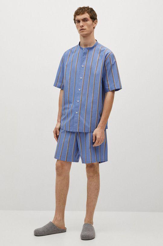 Mango Man - Szorty piżamowe AEGEAN-I niebieski