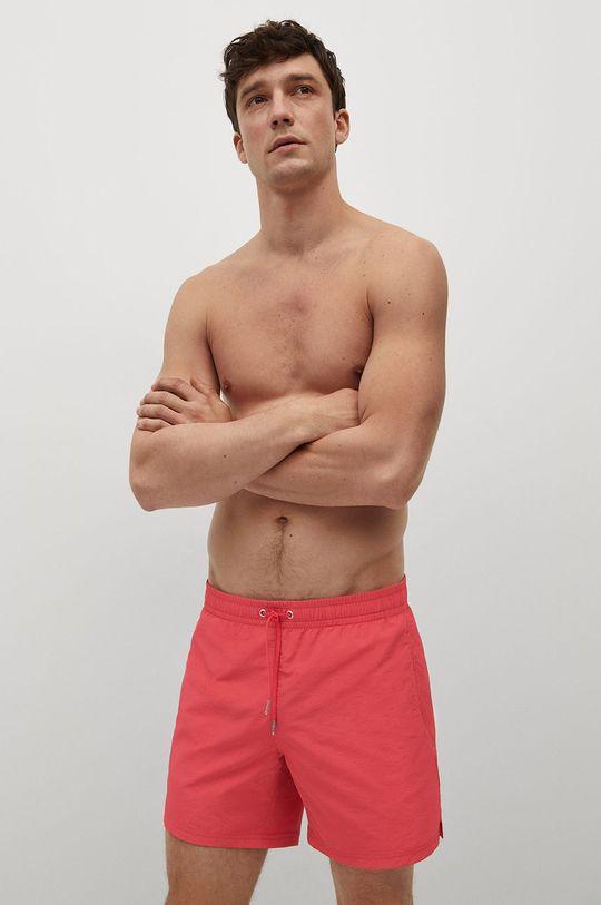 červená Mango Man - Plavkové šortky LISO Pánský
