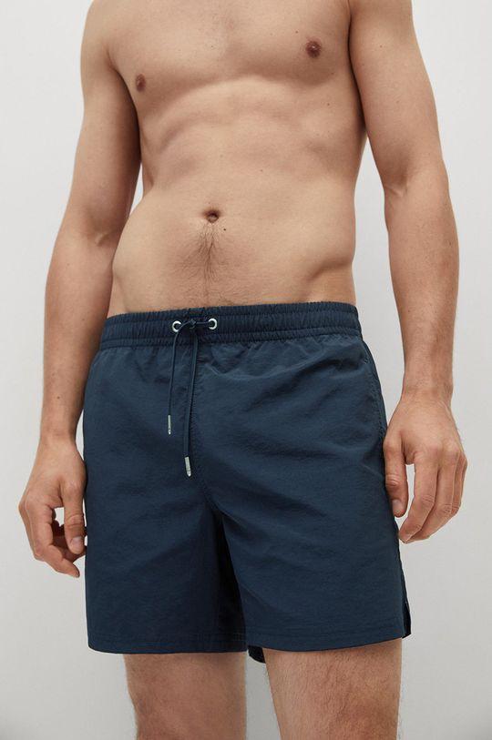 tmavomodrá Mango Man - Plavkové šortky LISO Pánsky