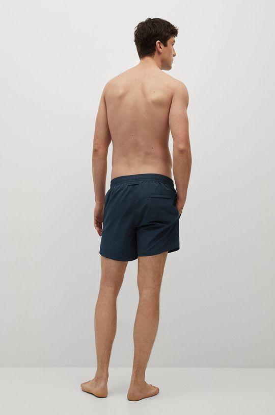 Mango Man - Plavkové šortky LISO  Podšívka: 100% Polyester Základná látka: 100% Polyamid