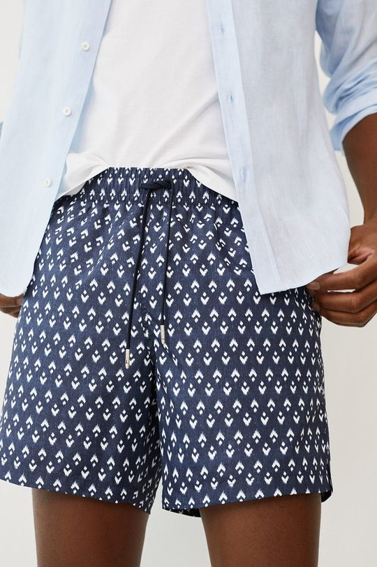 tmavomodrá Mango Man - Plavkové šortky ALARO Pánsky