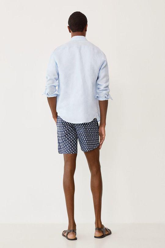 Mango Man - Plavkové šortky ALARO  Podšívka: 100% Polyester Základná látka: 100% Polyester