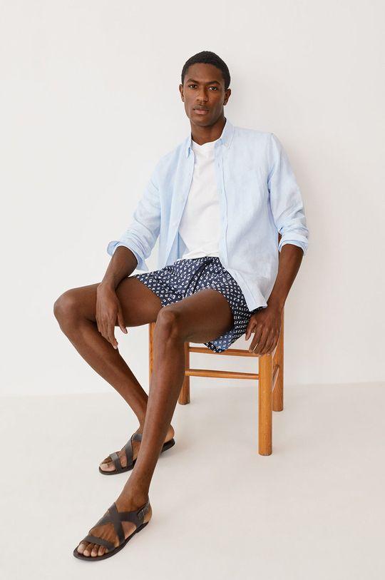 tmavomodrá Mango Man - Plavkové šortky ALARO