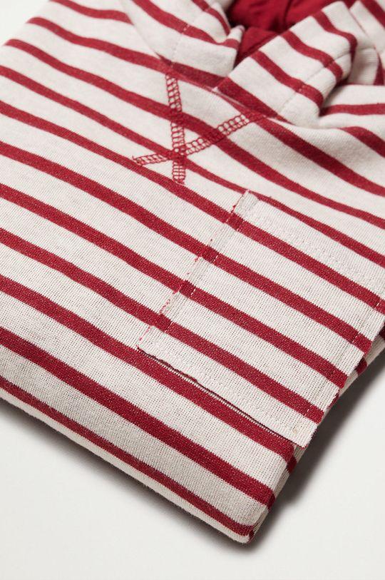 Mango Kids - Dětská bavlněná mikina SUTU  25% Polyester, 75% Organická bavlna