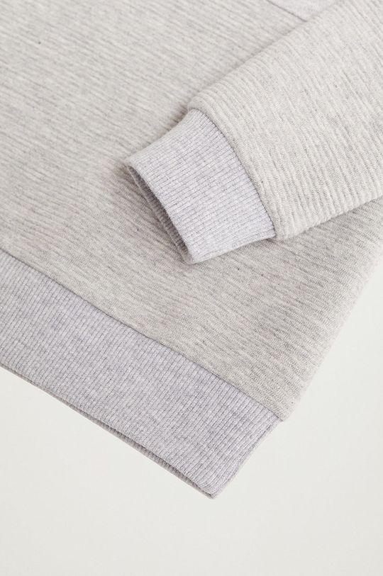 Mango Kids - Dětská bavlněná mikina SUOTTOK  60% Organická bavlna, 40% Polyester