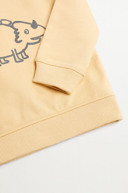 Mango Kids - Dětská mikina SAURUS  100% Organická bavlna