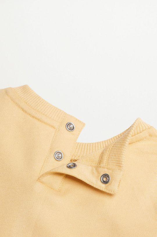 žlutá Mango Kids - Dětská mikina SAURUS