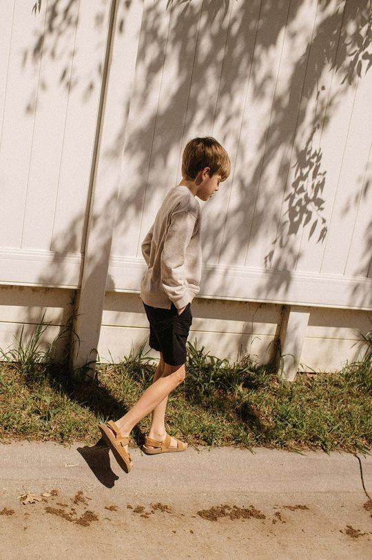 pszeniczny Mango Kids - Bluza bawełniana Tony 110-164 cm