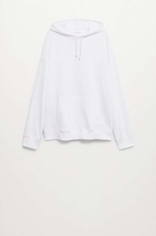 biały Mango Kids - Bluza bawełniana Snow Chłopięcy