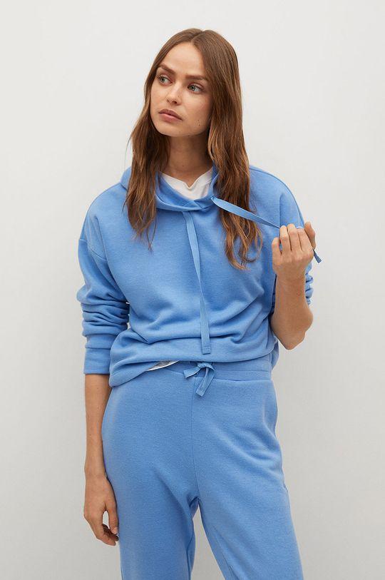 blady niebieski Mango - Bluza Maxime8 Damski