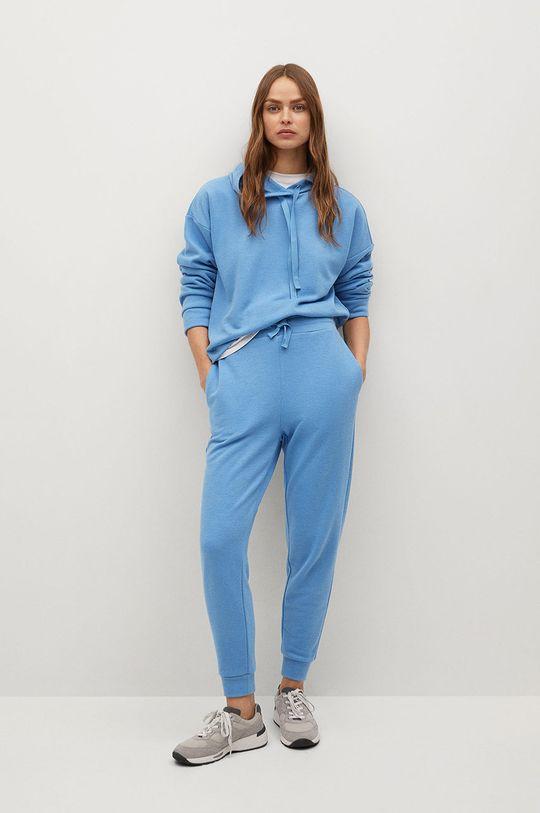Mango - Bluza Maxime8 blady niebieski